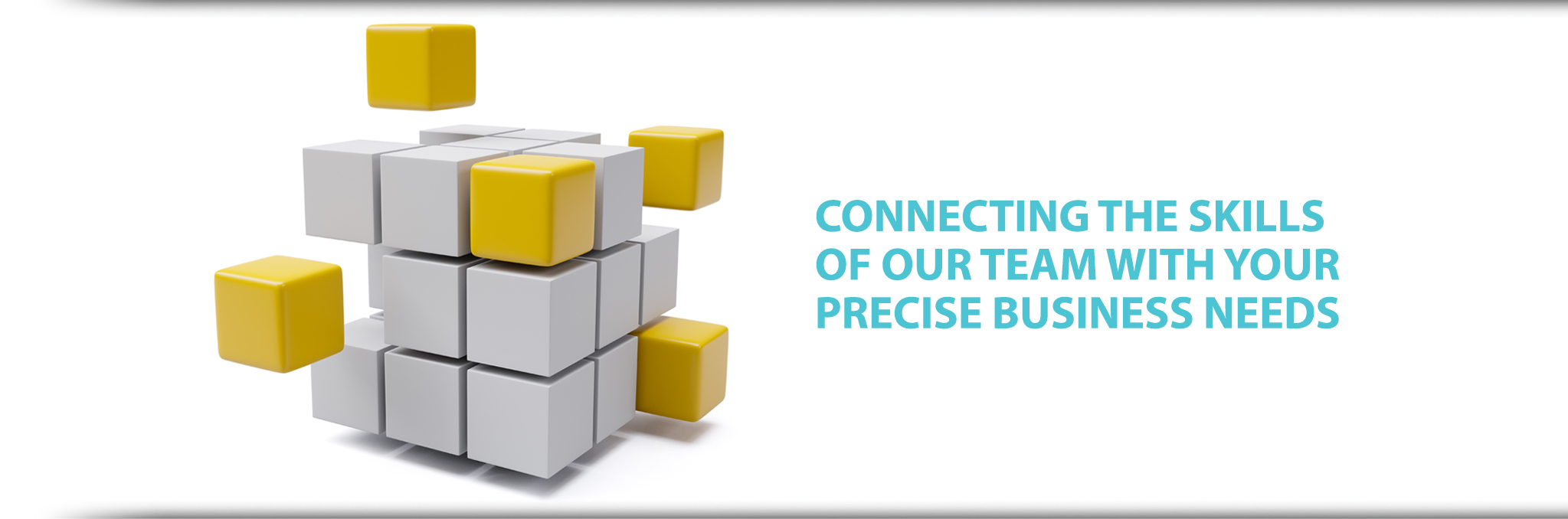 Connecting the skills of our team with your precise business needs